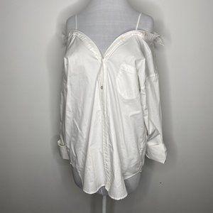 Caara Show Off Your Shoulders Shirt (NWT)